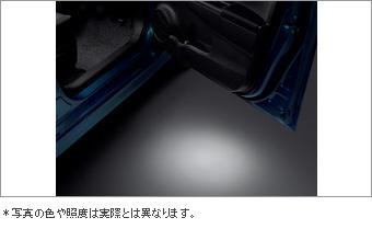 Подсветка входа/выхода для Toyota VITZ NSP135-AHXGK (Дек. 2010–Сент. 2011)