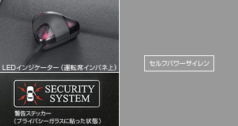 Комплект автосигнализации, автосигнализация (сирена с независимым питанием), (набор основной, не мультифункциональный) для Toyota HIACE TRH200K-FRPDK-G (Май 2012–Дек. 2013)