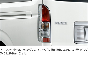 Стоп-сигнал прозрачный комбинированный (задний, заменяемый) для Toyota HIACE KDH201V-RFPDY (Дек. 2013–Янв. 2015)